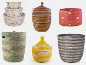The story of Swhaili baskets and 10 ways to use them.