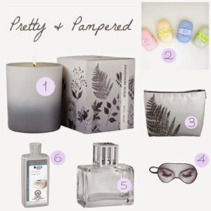 Gift Guide: Pretty & Pampered