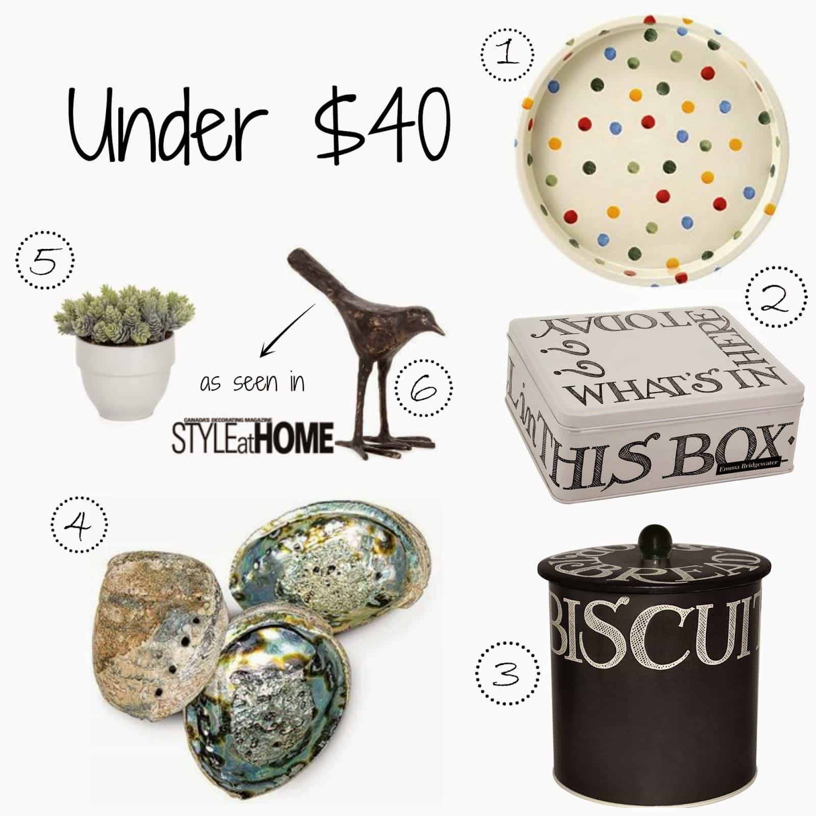 Gift Guide: Under $40
