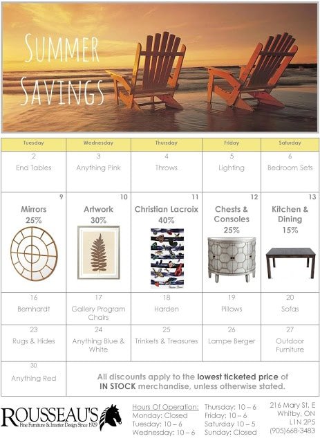 Summer Savings Week 2
