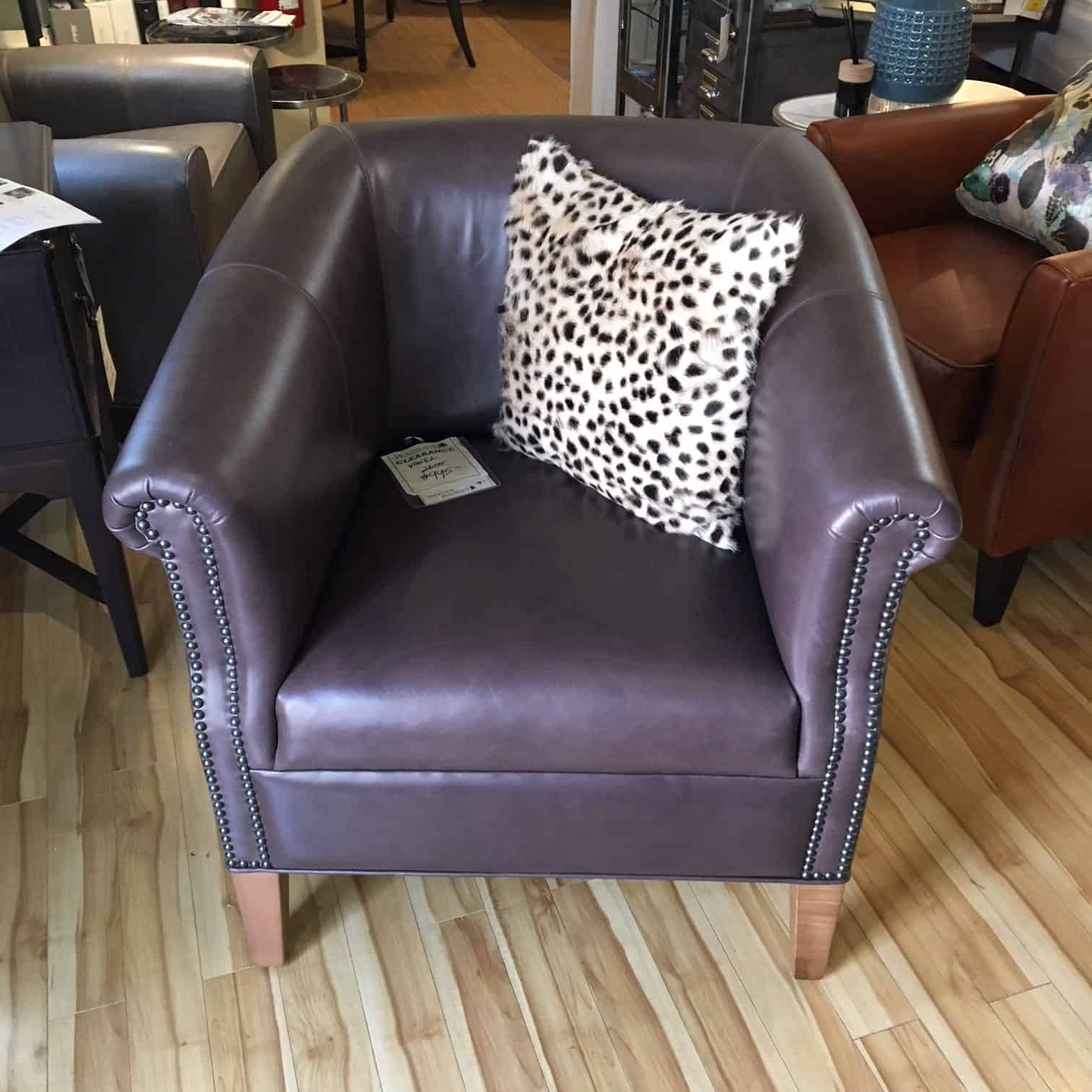Vogel Leather Chair