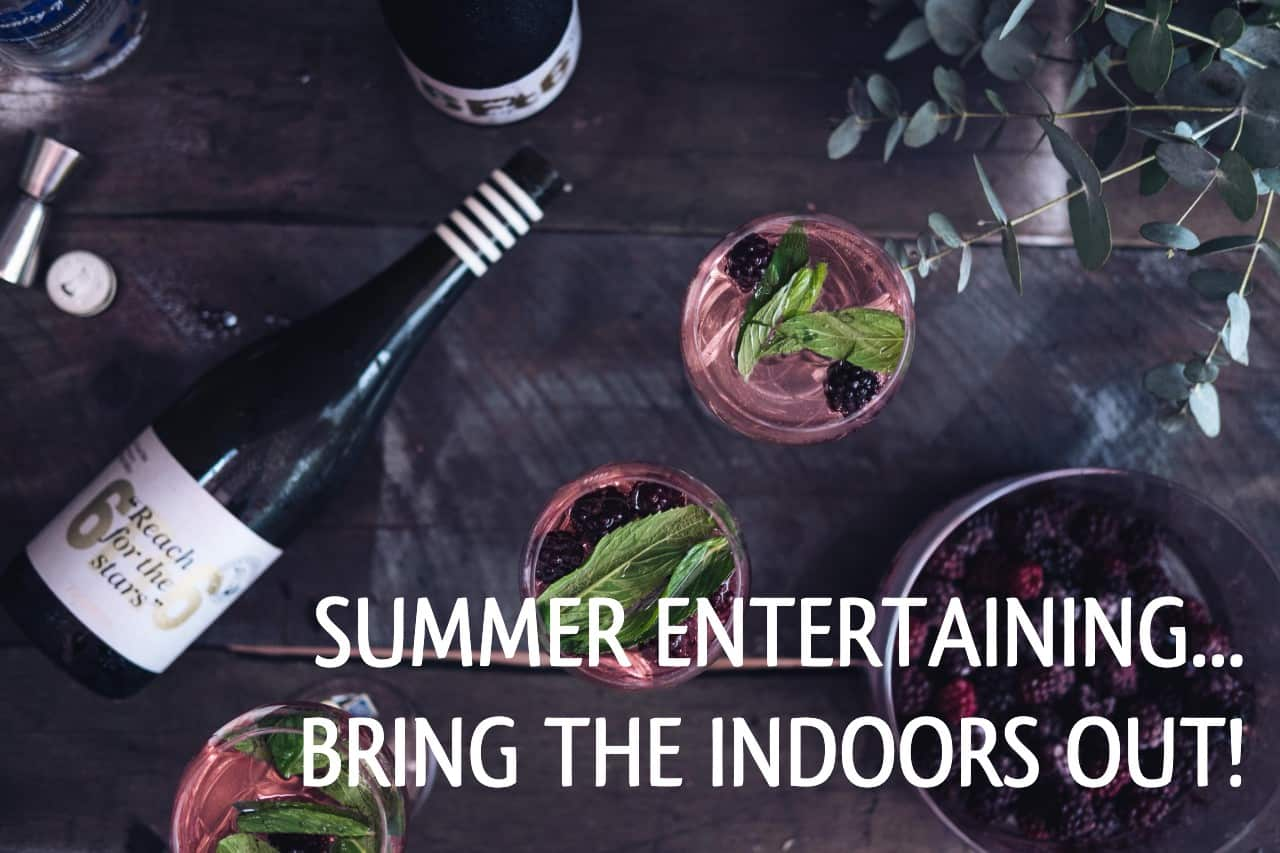 You are currently viewing Summer Entertaining: Bring the Indoors Out!