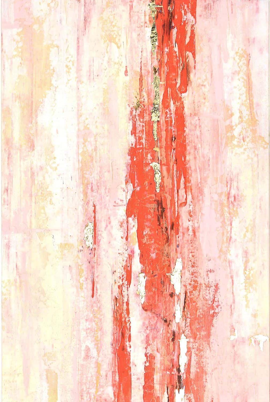 Orange Peel Print I
