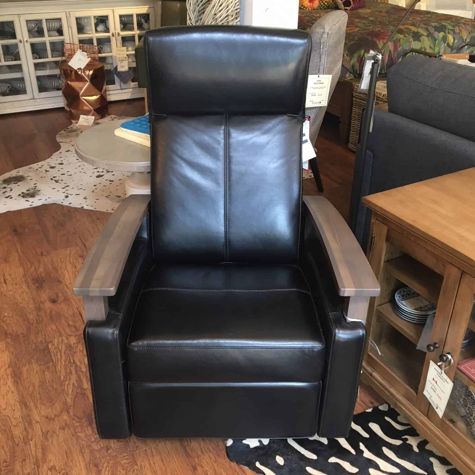Dutailier Leather Power Recliner