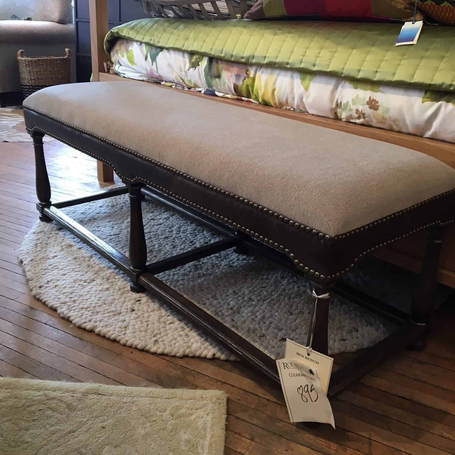 Hooker Upholstered Bench