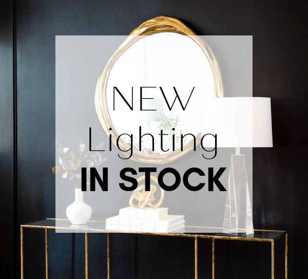 We Miss You! We're Back With A Stunning Selection of Lighting