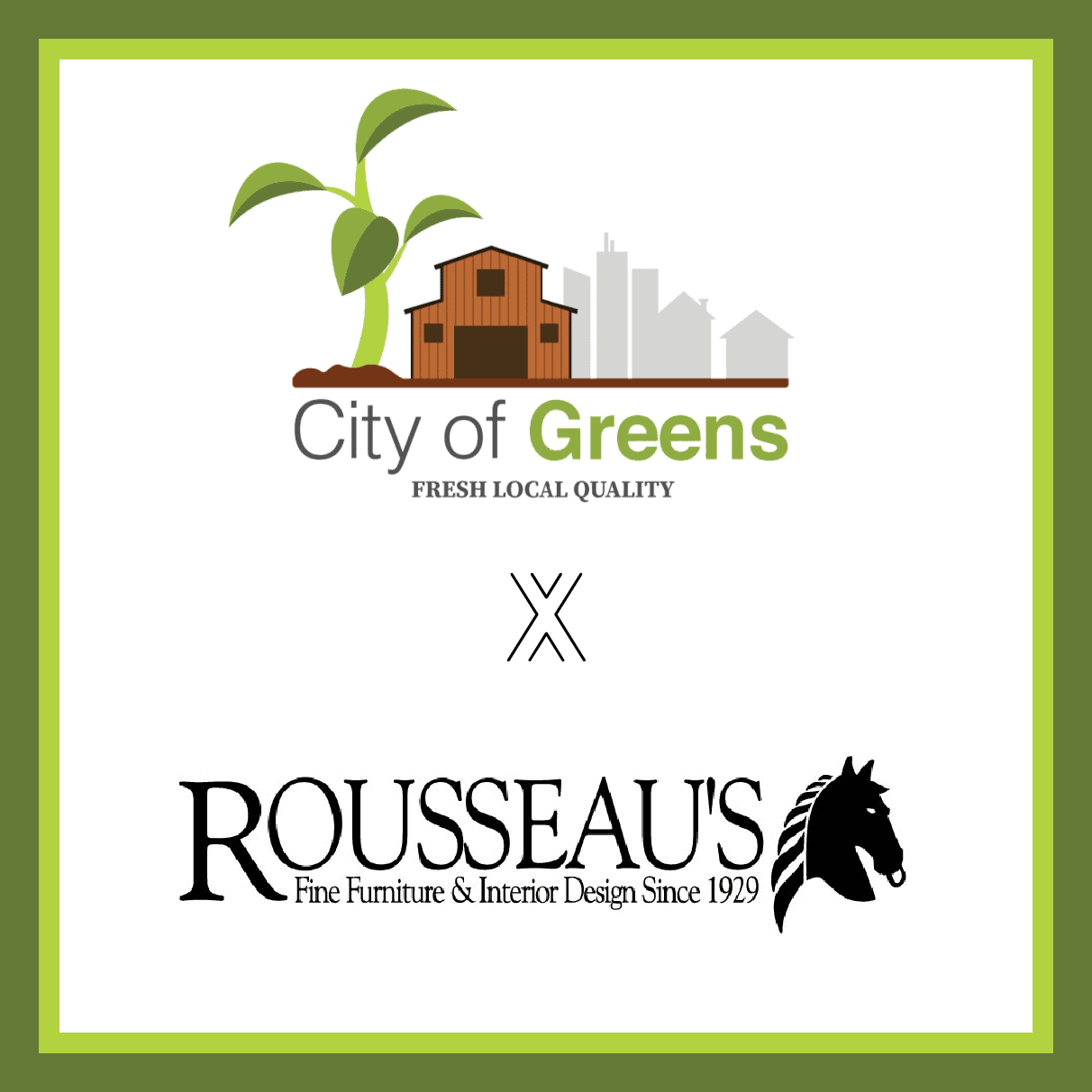 Introducing: Rousseau's x City of Greens